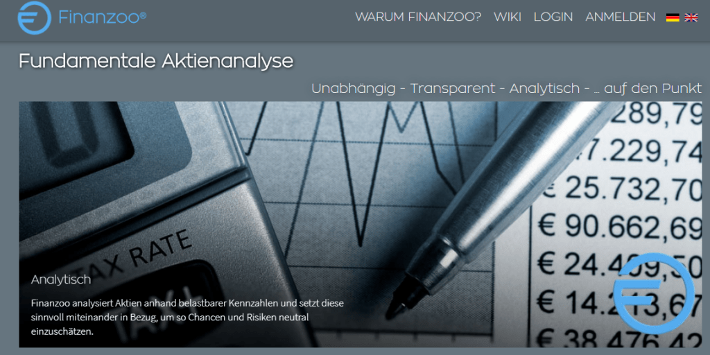 Finanzoo Fundamental Analyse