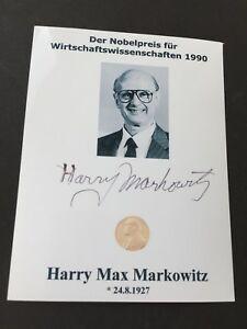 Nobelpreis Markowitz Portfolio-Theorie