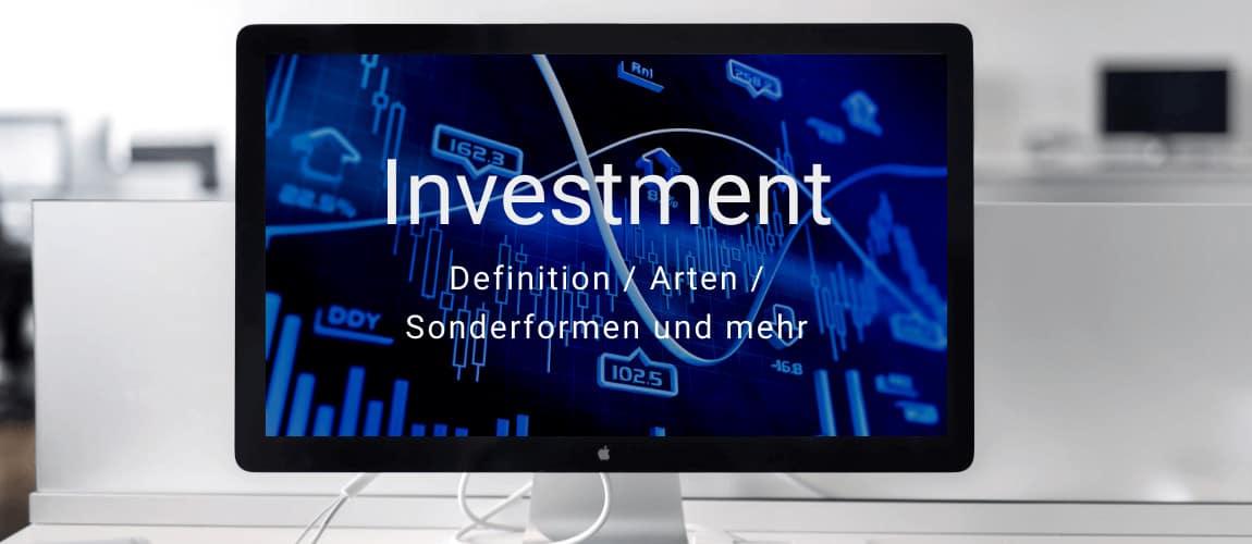 Ratgeber Investment und Investition