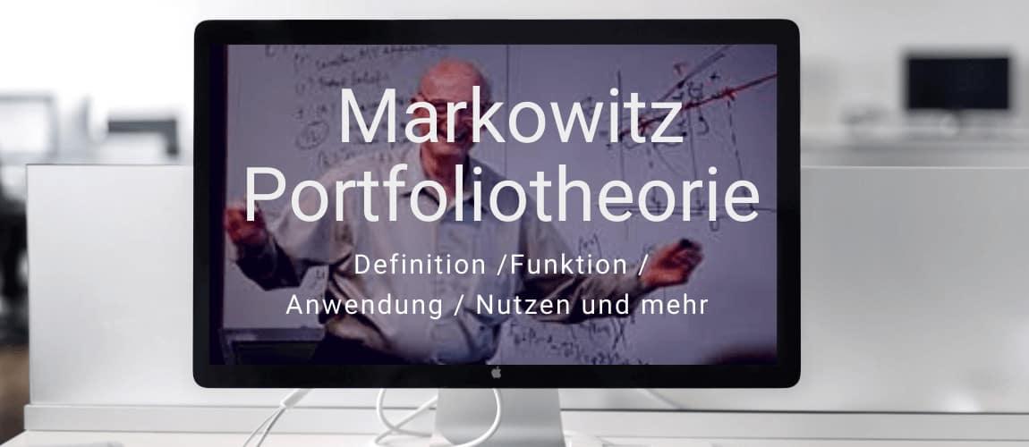 Investmentwissen - Moderne Portfoliotheorie nach Markowitz