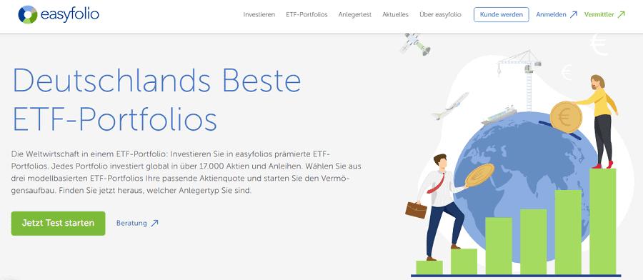 easyfolio Test - die ETF- Portfolios im Check